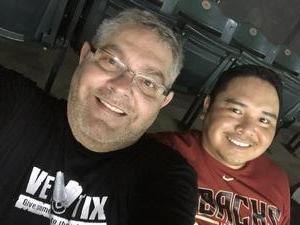 Brian attended Arizona Diamondbacks vs. Atlanta Braves - MLB on Sep 6th 2018 via VetTix