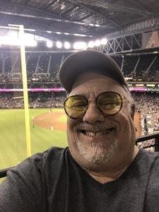 Michael G attended Arizona Diamondbacks vs. Atlanta Braves - MLB on Sep 6th 2018 via VetTix