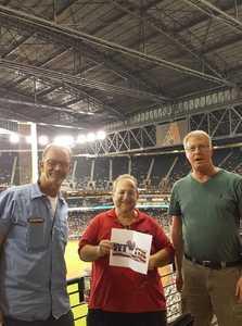 Steve attended Arizona Diamondbacks vs. Atlanta Braves - MLB on Sep 6th 2018 via VetTix