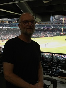 Kevin attended Arizona Diamondbacks vs. Atlanta Braves - MLB on Sep 6th 2018 via VetTix