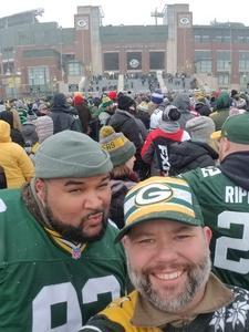 Shawn attended Green Bay Packers vs. Arizona Cardinals - NFL on Dec 2nd 2018 via VetTix