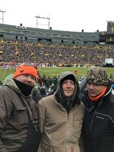 Michael attended Green Bay Packers vs. Arizona Cardinals - NFL on Dec 2nd 2018 via VetTix