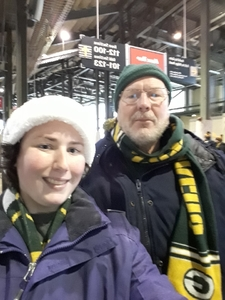 Daniel attended Green Bay Packers vs. Arizona Cardinals - NFL on Dec 2nd 2018 via VetTix
