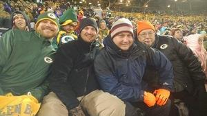 Timothy attended Green Bay Packers vs. Arizona Cardinals - NFL on Dec 2nd 2018 via VetTix
