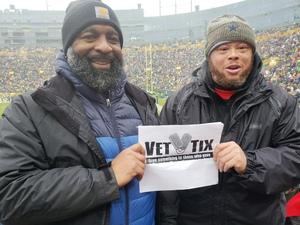 damon attended Green Bay Packers vs. Arizona Cardinals - NFL on Dec 2nd 2018 via VetTix