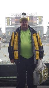 James attended Green Bay Packers vs. Arizona Cardinals - NFL on Dec 2nd 2018 via VetTix