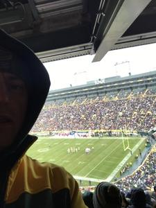 Erik attended Green Bay Packers vs. Arizona Cardinals - NFL on Dec 2nd 2018 via VetTix