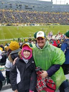 Karl attended Green Bay Packers vs. Arizona Cardinals - NFL on Dec 2nd 2018 via VetTix
