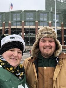 thomas attended Green Bay Packers vs. Arizona Cardinals - NFL on Dec 2nd 2018 via VetTix