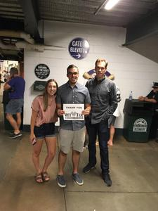David attended Colorado Rockies vs. Pittsburgh Pirates - MLB on Aug 6th 2018 via VetTix