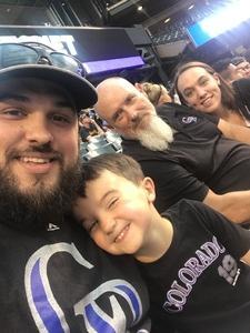 Josh attended Colorado Rockies vs. Pittsburgh Pirates - MLB on Aug 6th 2018 via VetTix