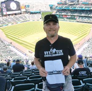David attended Colorado Rockies vs Los Angeles Dodgers - MLB on Aug 12th 2018 via VetTix