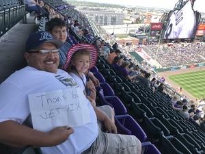 Nick attended Colorado Rockies vs Los Angeles Dodgers - MLB on Aug 12th 2018 via VetTix