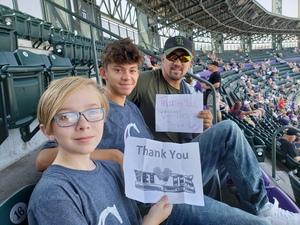 Christopher attended Colorado Rockies vs Los Angeles Dodgers - MLB on Aug 12th 2018 via VetTix