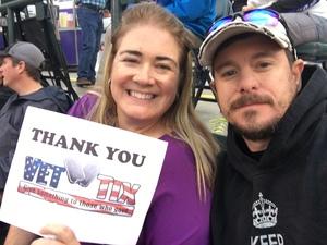 John attended Colorado Rockies vs. San Diego Padres - MLB on Aug 21st 2018 via VetTix