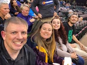 Khris attended Colorado Rockies vs. San Diego Padres - MLB on Aug 21st 2018 via VetTix