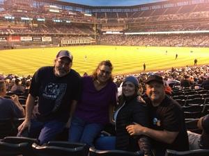 Jon attended Colorado Rockies vs. San Diego Padres - MLB on Aug 21st 2018 via VetTix