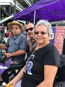 Rose attended Colorado Rockies vs. San Diego Padres - MLB on Aug 21st 2018 via VetTix