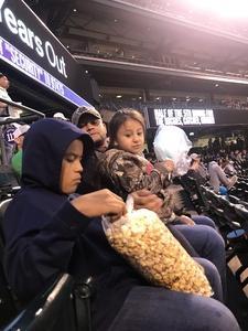 Crystal attended Colorado Rockies vs. San Diego Padres - MLB on Aug 21st 2018 via VetTix