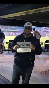 melissa attended Colorado Rockies vs. San Diego Padres - MLB on Aug 21st 2018 via VetTix