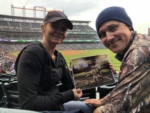 Wayne attended Colorado Rockies vs. San Diego Padres - MLB on Aug 21st 2018 via VetTix