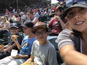 Claudia attended Colorado Rockies vs San Diego Padres - MLB on Aug 23rd 2018 via VetTix