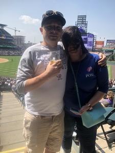 Matthew attended Colorado Rockies vs San Diego Padres - MLB on Aug 23rd 2018 via VetTix