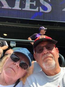 Don attended Colorado Rockies vs San Diego Padres - MLB on Aug 23rd 2018 via VetTix
