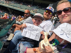 Justin attended Colorado Rockies vs San Diego Padres - MLB on Aug 23rd 2018 via VetTix