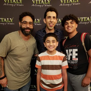 Arturo M attended Vitaly an Evening of Wonders on Aug 3rd 2018 via VetTix