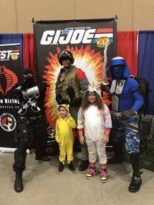 Frances Santiago attended Infinity Toy and Comic Con on Aug 25th 2018 via VetTix