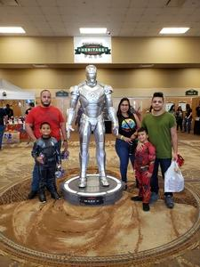 Nilza attended Infinity Toy and Comic Con on Aug 25th 2018 via VetTix