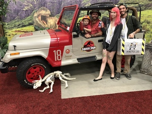 Christopher attended Infinity Toy and Comic Con on Aug 25th 2018 via VetTix