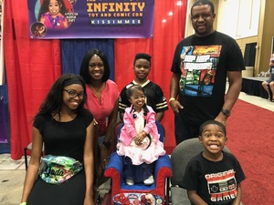 Emmadell attended Infinity Toy and Comic Con on Aug 25th 2018 via VetTix