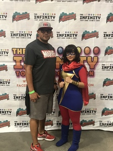 Daniel attended Infinity Toy and Comic Con on Aug 25th 2018 via VetTix