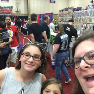 Heidi attended Infinity Toy and Comic Con on Aug 25th 2018 via VetTix