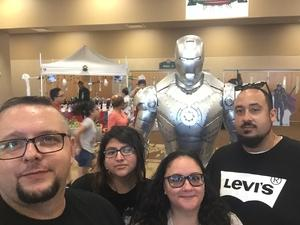 Nickolas attended Infinity Toy and Comic Con on Aug 25th 2018 via VetTix