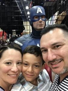 Jose attended Infinity Toy and Comic Con on Aug 25th 2018 via VetTix