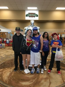 Julio attended Infinity Toy and Comic Con on Aug 25th 2018 via VetTix