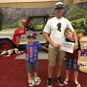 Templer attended Infinity Toy and Comic Con on Aug 25th 2018 via VetTix