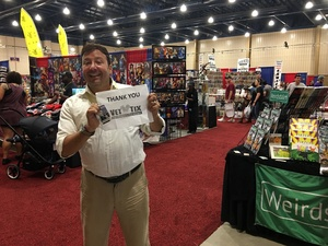 Michael attended Infinity Toy and Comic Con on Aug 25th 2018 via VetTix