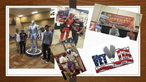 Luis attended Infinity Toy and Comic Con on Aug 25th 2018 via VetTix