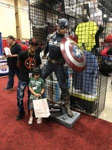 Xavier attended Infinity Toy and Comic Con on Aug 25th 2018 via VetTix