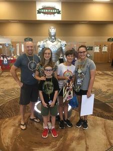Jonathan attended Infinity Toy and Comic Con on Aug 25th 2018 via VetTix