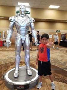 Gilbert attended Infinity Toy and Comic Con on Aug 25th 2018 via VetTix