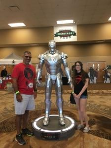 Rodney attended Infinity Toy and Comic Con on Aug 25th 2018 via VetTix