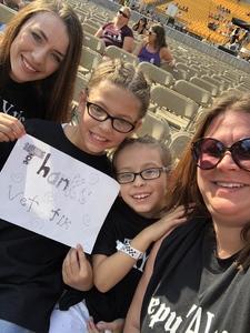 Stephanie attended Taylor Swift Reputation Stadium Tour on Aug 7th 2018 via VetTix