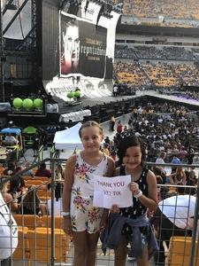 Anthony attended Taylor Swift Reputation Stadium Tour on Aug 7th 2018 via VetTix
