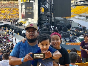 ismael attended Taylor Swift Reputation Stadium Tour on Aug 7th 2018 via VetTix