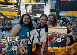 James attended Taylor Swift Reputation Stadium Tour on Aug 7th 2018 via VetTix
